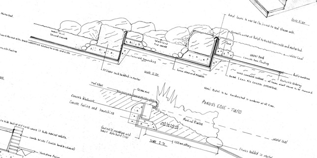 Garden Designer - Construction Drawing